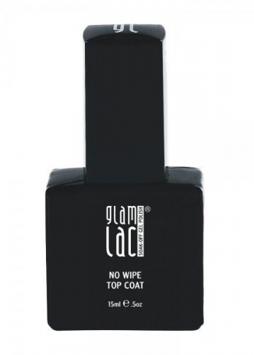 GlamLac No Wipe Top Coat 15ml